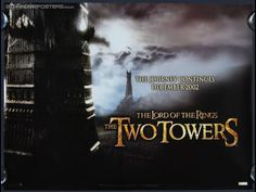 Home Cinema Reel - Lord of The Rings: The Two Towers (12A) The Two Towers, Island Records, Legolas, Home Cinemas, Lord Of The Rings, Lotr, Super Powers, The Hobbit, Quad