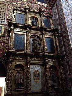 Bogota Barroca - Iglesia de Santa Clara- retablo lateral