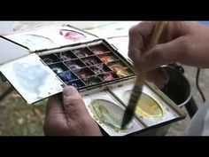 YouTube...watercolour is a simple process made complicated by people who paint watercolour! Funny man...good video