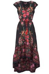 Cupshe So Gifted Vintage Printing Maxi Dress - XXL