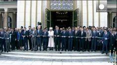 Controvertida inauguración de la mezquita turca de Bestepe