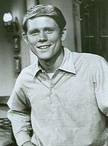 "Ron Howard played ""Richie Cunningham"" on ""Happy Days""."