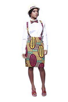 Abi braces skirt