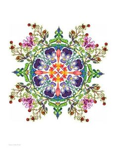 Mandala and Recycled Art Inspiration Mandala Design, Mandala Art, Flower Mandala, Art Et Illustration, Illustrations, Tattoos Mandalas, Mandala Tattoo, Art Fractal, Art Design