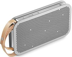 B&O PLAY by BANG & OLUFSEN – BeoPlay A2 Portable Bluetooth Speaker, Grey (1290935)  $  310.29   Speakers Product Features     A powerful portable wireless speaker with True360 sound from B&O PLAY by Bang & Olufsen   Well-balanced sound profile featuring a rich bass that can fill any room our outdoor space   B&O PLAY products come with a 2-year limited war ..