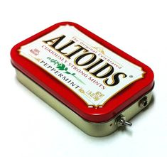 ARE YOU KIDDIN GME! I am SOOOO getting these for like 4 people on my list! Portable Altoids Amp and Speaker for iPhone MP3 Player by ampoids, $30.00