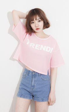 Official Korean Fashion : Korean Summer Fashion - New Site Korean Summer, Korean Fashion Summer, Korean Fashion Trends, Korean Street Fashion, Korea Fashion, Asian Fashion, Girl Fashion, Fashion Outfits, Fashion Design