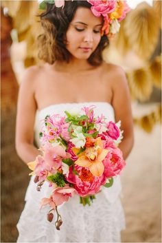 Caribbean Wedding Inspiration by Danielle Capito Photography // see more on lemagnifiqueblog.com