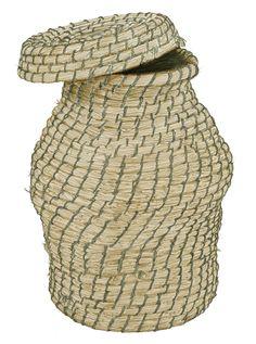 Cistell de palla / Cesto de paja (escriño)