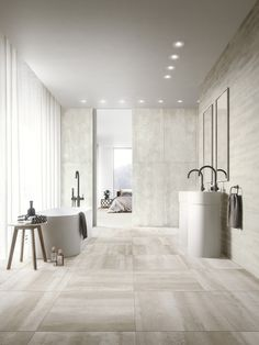Porcelain stoneware wall/floor tiles with stone effect OVERLAY by Ceramiche Refin