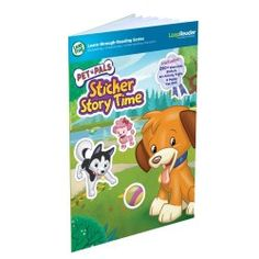 LeapFrog & Leapster Leapfrog Leapreader Book: Pet Pals Sticker Story Time (Works With Tag) Interactive Activities, Book Activities, Interactive Books, Tag Online, Creative Play, Reading Skills, New Words, Story Time, Storytelling