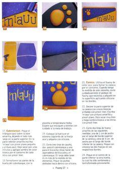 El Rinconcito de las Manualidades de Rosi: Para el baño con gatos