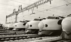 Fifty years ago on Wednesday two Shinkansen bullet trains completed their first journeys, kickstarting a high-speed rail network that would transform Japan