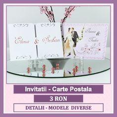 Invitatii nunta - wedding cards Place Cards, Place Card Holders, Wedding, Valentines Day Weddings, Weddings, Marriage, Chartreuse Wedding