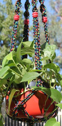 macrame plant hangers | Request a custom order and have something made just for you.
