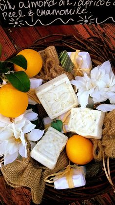 Calm Sunrise With Goats Milk Or Shea Butter, Coconut Oil, Apricot Oil and Grape Seed Oil, Citrus Fragrance Oil Blend, Sweet Almond Oil, Orange Peel and Chamomile. All Natural Ingredients. Handcrafted With Love By #Neo Natural. Essential. Organics. #NaturalSoap  #Soap #Handcrafted