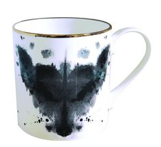 what would a shrink say about me drinking my cawfee from an ink blotted mug?