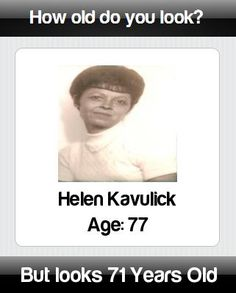 How old do you really look? Find at http://apps.funlababuser.com/how_old