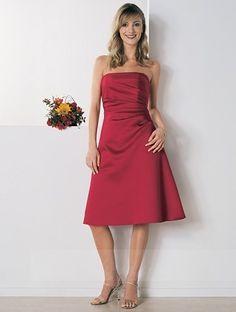 Short Bridesmaid Dresses,Strapless Bridesmaid Dresses On Sale 04606