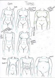 Resultado de imagen de body shapes drawing