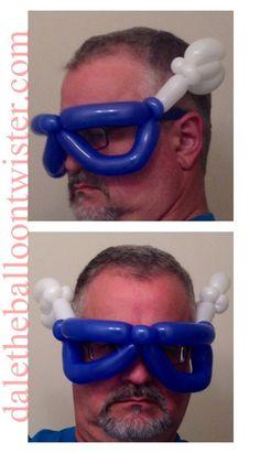 Captain America hairband/mask inspired by Scott Tripp.