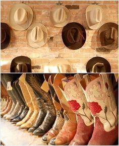 Cowboy boots & Cowboy hats