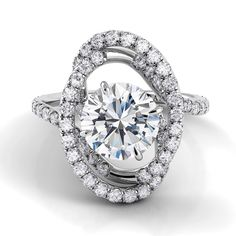 Capri Jewelers Arizona ~ www.caprijewelersaz.com We're excited to have this new Danhov beauty in our Eleganza collection!