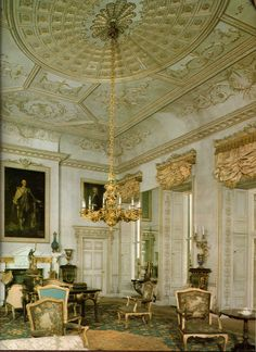 The Saloon - Uppark - Sussex - England