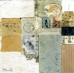 collage watercolor artist, artist, santa barbara, california artist,