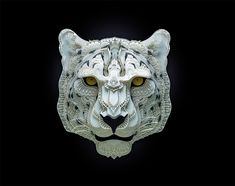 A papercut art series that makes you go wow and wonder if it is real or not. Well, it's real and it's called Endangered Species by Patrick Cabral. Vulnerable Species, Animal Cutouts, Paper Animals, Book Sculpture, Animal Masks, Art Original, Masks Art, Kirigami, Endangered Species