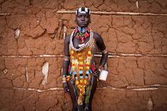 Coisas de Terê→ Hamer girl - Turmi - Ethiopia tribe - Omo Valley - Africa. Photo: Pascal Mannaerts