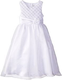 Rare Editions Big Girls' Lattice Bodice Ceremony Dress, White, 10 Rare Editions http://www.amazon.com/dp/B00PWWUX80/ref=cm_sw_r_pi_dp_27v4ub06ZSXHP