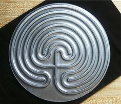 Finger labyrinth for meditation center/ways to pray shelf in Spirit Play classroom. Etsy has many nice ones that aren't too expensive (but I can't grab pictures of them?).