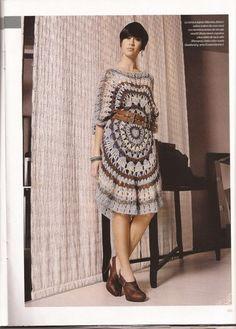 Цветное салфеточное платье - Платье.Сарафан