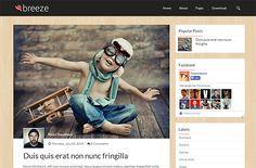 Breeze Fixed Blogger Template é um template blogger para blog pessoal e etc. Com layout responsivo, Breeze Fixed tem 2 colunas, 1 sidebar direita, 3 colunas de rodapé, menu drop-down flutuante, resumo de postagem leia mais, página de navegação numerada, botões de compartilhamento social, posts relacionados, botão voltar ao topo, locais para posicionar anúncios e muito mais. Blogger Templates, Baby Photos, Breeze, Movie Posters, 1, Movies, Photography, Travel, Columns