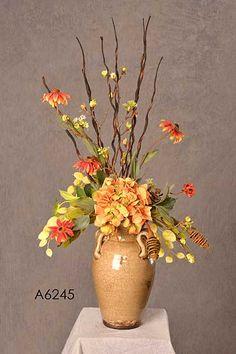 Large Silk Flower Arrangements | A6245 BLACK-EYED SUSAN