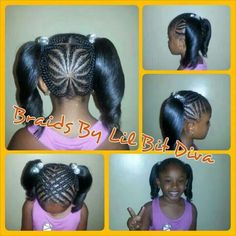 New braids for kids with beads black girls natural hair tips ideas Lil Girl Hairstyles, Natural Hairstyles For Kids, Princess Hairstyles, Natural Hair Tips, Braided Hairstyles, Natural Hair Styles, Children Hairstyles, Natural Kids, American Hairstyles