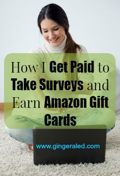 Learn how I get paid to take surveys and earn Amazon gift cards. These are my absolute favorite legitimate survey sites that I use to earn $60+ each month in Amazon gift cards.