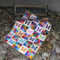 Free Quilt Pattern: Butterfly Baby Quilt