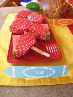 Prevent watermelon dripping