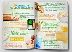 9 alimentos NO recomendados.