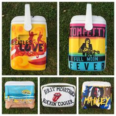 Custom Painted Cooler: Personalized Cooler
