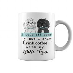 DRINK COFFEE WITH MY SHIH TZU COFFEE MUGS T-SHIRTS, HOODIES ( ==►►Click To Shopping Now) #drink #coffee #with #my #shih #tzu #coffee #mugs #Dogfashion #Dogs #Dog #SunfrogTshirts #Sunfrogshirts #shirts #tshirt #hoodie #sweatshirt #fashion #style