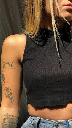 Dainty Tattoos, Dope Tattoos, Dream Tattoos, Pretty Tattoos, Body Art Tattoos, New Tattoos, Small Tattoos, Sleeve Tattoos, Tatoos