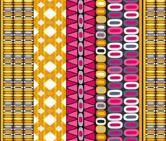 DELINEATION fabric by scrummy for sale on Spoonflower - custom fabric, wallpaper and wall decals