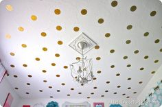 I love this idea for my girls' room!