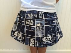 Ready to ship Star Wars girls/toddler skirt. by TheNerdyPrincess