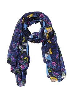 Disney Discovery- Alice floral scarf