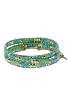 Wanderlust Triple Wrap in Turquoise by Stella and Dot Shop at stelladot.com/patriciagraham!