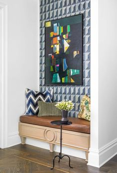 Corey Damen Jenkins makes minimalist-trad work.